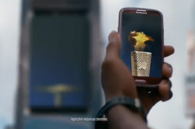 Samsung Mobile USA - Carmelo Anthony Uses S Beam