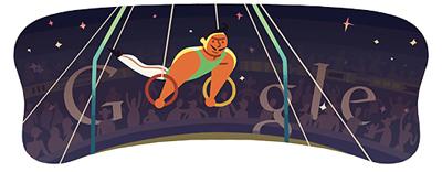 Google つり輪(ロンドンオリンピック2012)