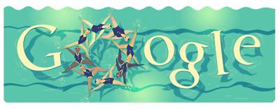 Google シンクロナイズドスイミング(ロンドンオリンピック2012)