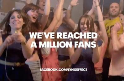 Lynx - 1 Million Facebook Fans Rube Goldberg Machine
