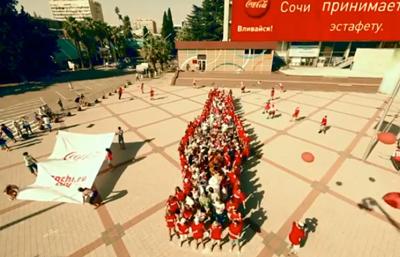 Coca-Cola встречает Олимпиаду-2014!