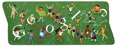 Google ロゴがオリンピック閉会式に!(ロンドンオリンピック2012)