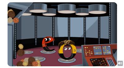 Google スタートレックシリーズ46周年