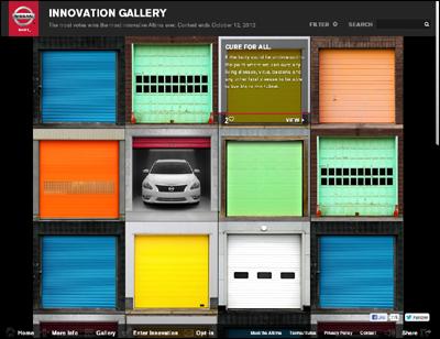 Nissan Innovation Garage