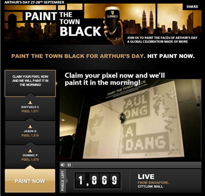 GUINNESS Paint The Town Black