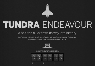 The Tundra Endeavour