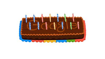 Google 生誕14周年
