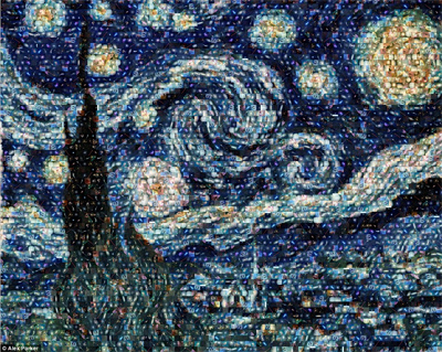 Van Gogh's Starry Night as you've never seen it before