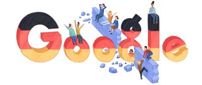 Google ドイツ統一の日(Tag der Deutschen Einheit )