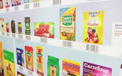 Carrefour présente son magasin virtuel éphémère