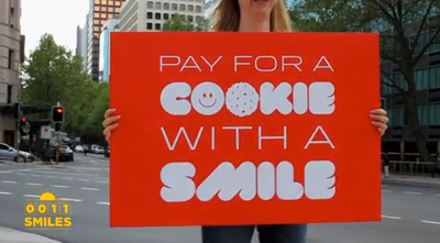 Pay with a smile | Project Change