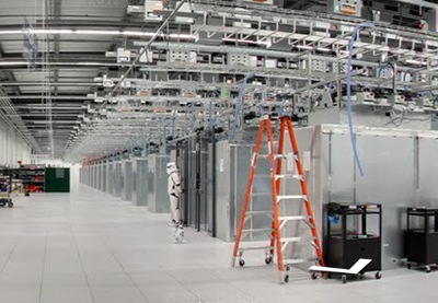 Take a walk through a Google data center