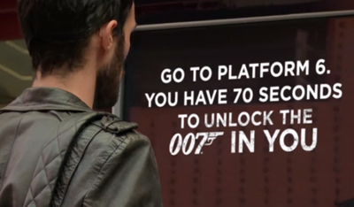 Unlock the 007 in you. You have 70 seconds!