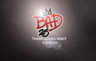 Michael Jackson Bad 25 Trailer Preview