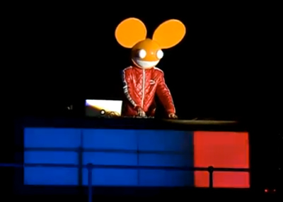 deadmau5 live 'Don't be afraid of the dark' - Nokia Lumia, London 2012