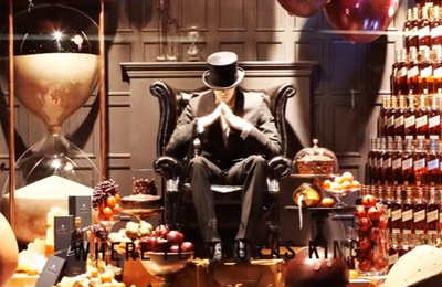 LOVE. Johnnie Walker, Selfridges Christmas installation