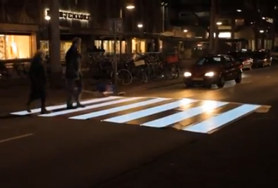 IBM Flashing Zebra Crossing