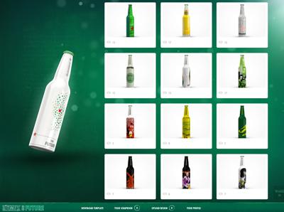 Heineken - Your Future Bottle