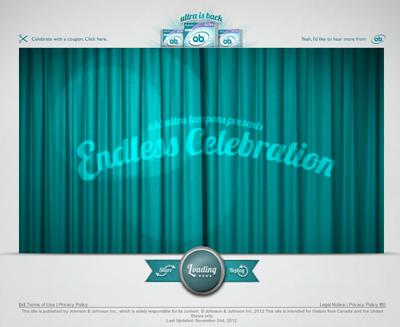 ob tampons presents: Endless Celebration