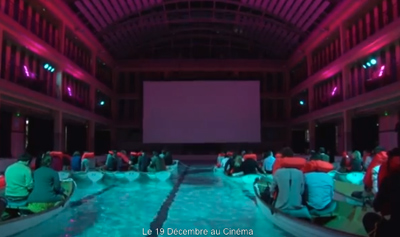 L'Odyssée de Pi(ライフ・オブ・パイ / トラと漂流した227日)- Cinéma sur l'eau HD