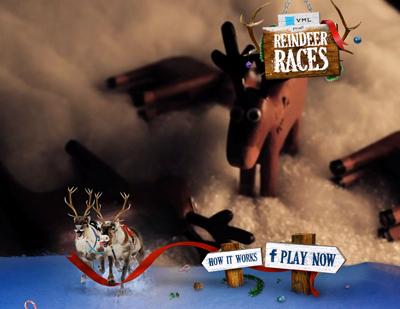 Reindeer Races - VML Australia's Epic Agency Xmas Card 2012