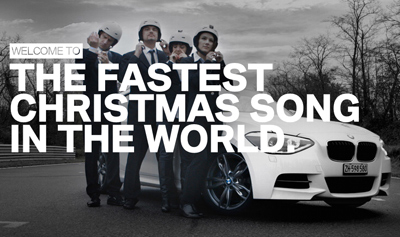 THE FASTEST CHRISTMAS SONG IN THE WORLD