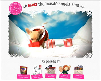 Bark! The Herald Angels Sing from Ralph