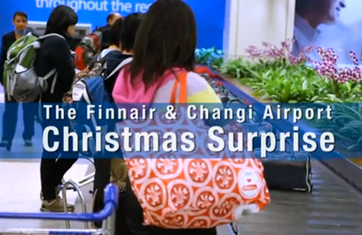 A Finnair Christmas in Singapore at Changi Airport