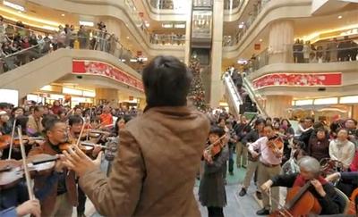 東北支援チャリティーイベント 羽田空港フラッシュモブ 2012