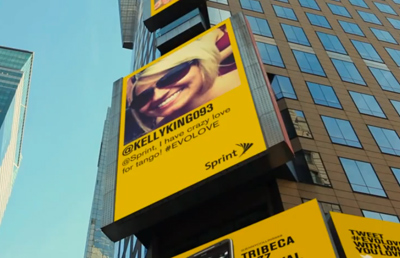Sprint Unlimited Love Billboard