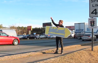 WORLDS BEST SIGN FLIPPER!