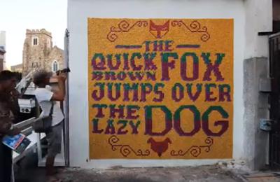 Chappies Edible Street Art