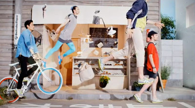 Onitsuka Tiger unveils Craft of Movement for Spring Summer 13 collection