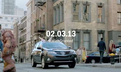Toyota Game Day Teaser I Wish Starring Kaley Cuoco