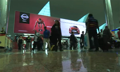 Bolt Sets Record at Dubai Airport