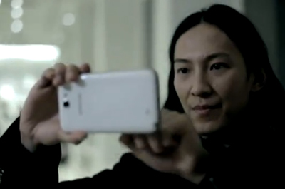 A day in the life of Alexander Wang with Samsung GALAXY Note II