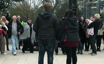 Marriage Proposal Flashmob - Bing Is For Doing