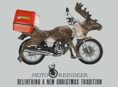 Moto-Reindeer