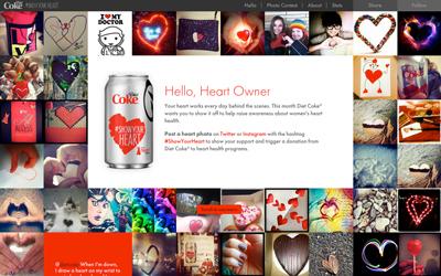 The Heart Truth - Diet Coke