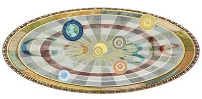 Google 地動説を唱えたニコラウス・コペルニクス生誕540周年で、太陽の周りを惑星が回るアニメーションロゴに