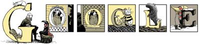 Google シニカルな内容の絵本で知られるエドワード・ゴーリー生誕88周年
