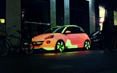 Opel ADAM - The Color Changing Car