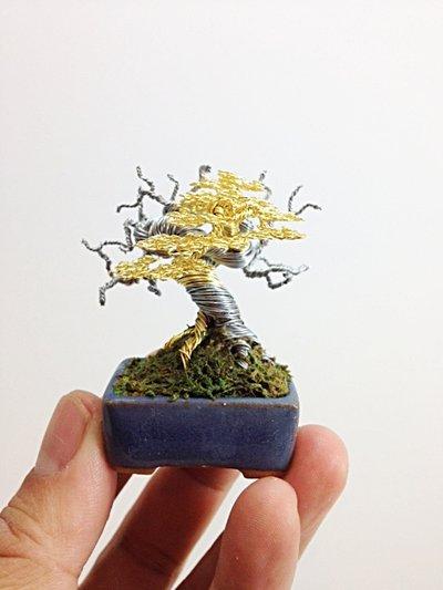 Wire Bonsai Tree by Ken To