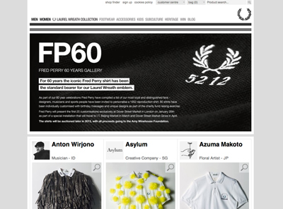 Fred Perry - 60 Years Gallery
