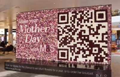 M&S Blooming QR Code