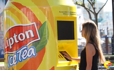 Lipton Ice Tea - Mometer