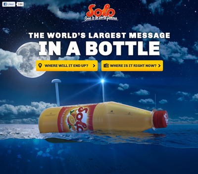 Solo Flaskepost