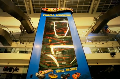 HOT WHEELS THRILL MACHINE
