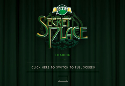 Welcome to Perrier Secret Place.