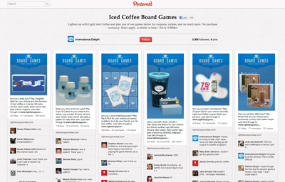 Iced Coffee Board Games